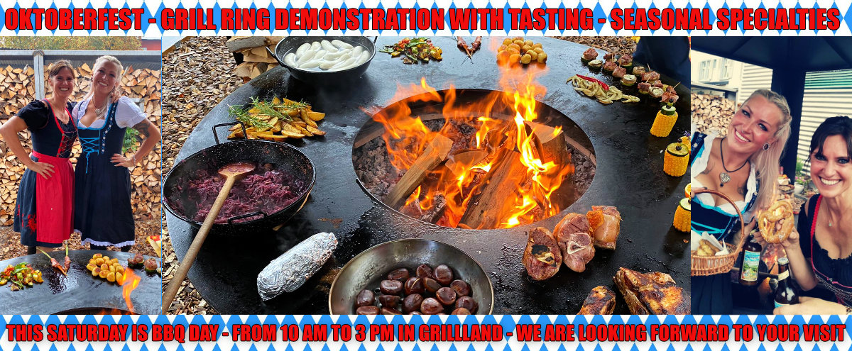 Grill Ring Demonstration & Tasting - This Saturday @ Grillland