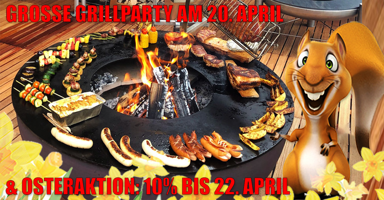 Oster Grillparty im Grillland 2019