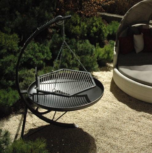 feuerschale stahl lamat. Black Bedroom Furniture Sets. Home Design Ideas