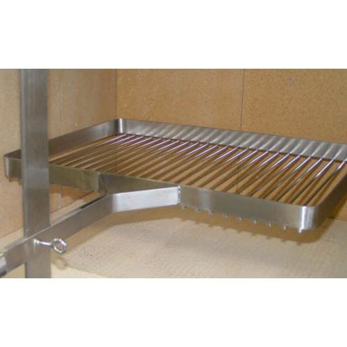 grillrost inox edelstahl 60 x 40 cm. Black Bedroom Furniture Sets. Home Design Ideas
